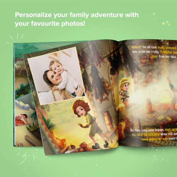 Make it your own unforgettable family journey by including your best photos!